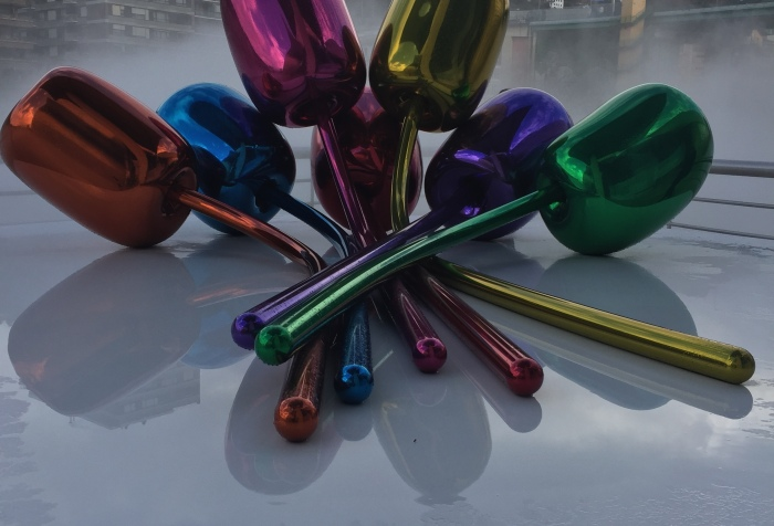 Tulipanes Jeff Koons