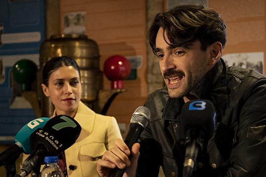 Presentación rueda de prensa de la película El Santa Isabel 01/03/19