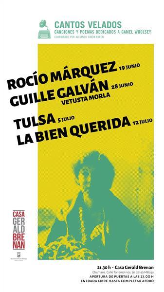 Málaga.- La Casa Gerald Brenan presenta el ciclo de poesía y música entorno a Gamel Woolsey