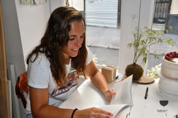 Sara Serrat portera y escritora