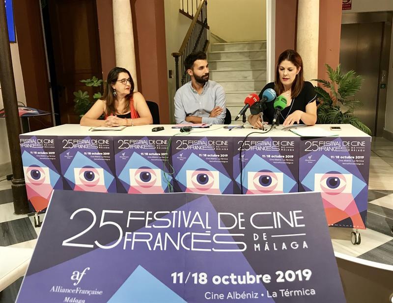 Presentación del 25 Festival de Cine Francés de Málaga