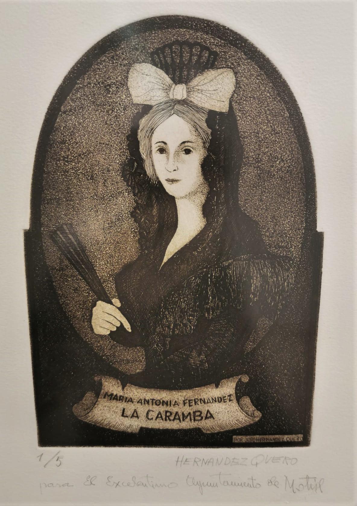 La Caramba. Por José Hernández Quero (Museo Hdez. Quero. Motril)