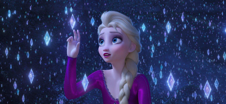 Elsa in Frozen 2  Credit: Disney