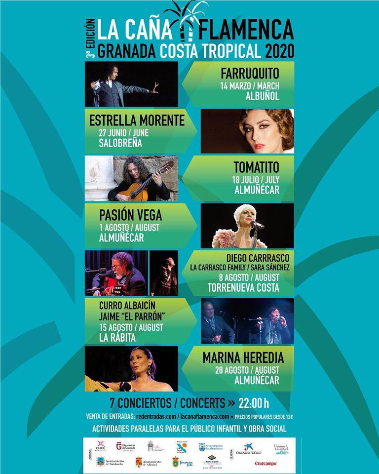 Cartel La Caña Flamenca 2020