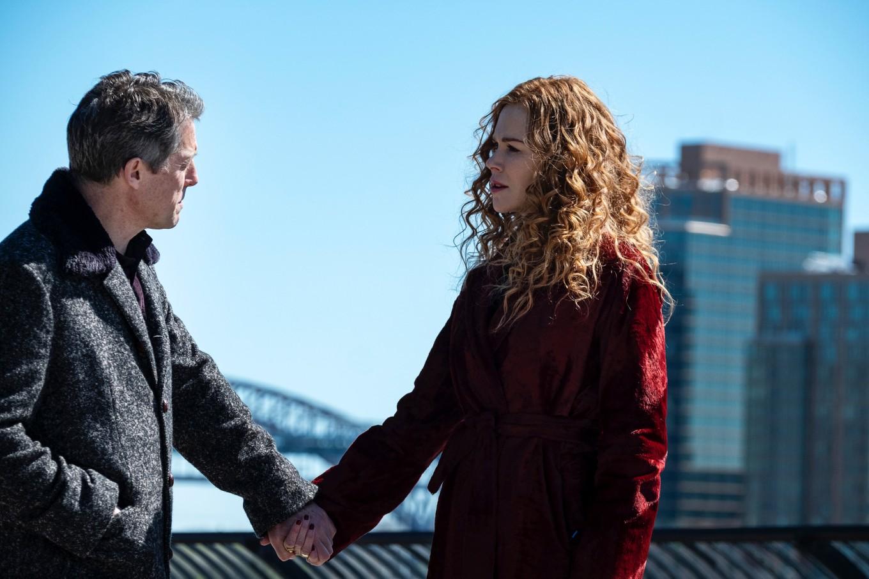 1 Photo credit - Niko Tavernise - HBO Nicole Kidman and Hugh Grant