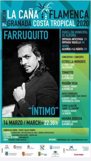 Concierto Farruquito Albuñol