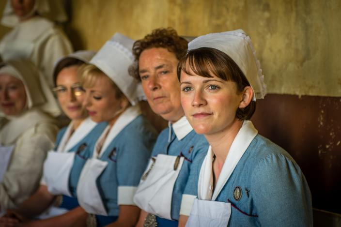 enfermería call the midwife
