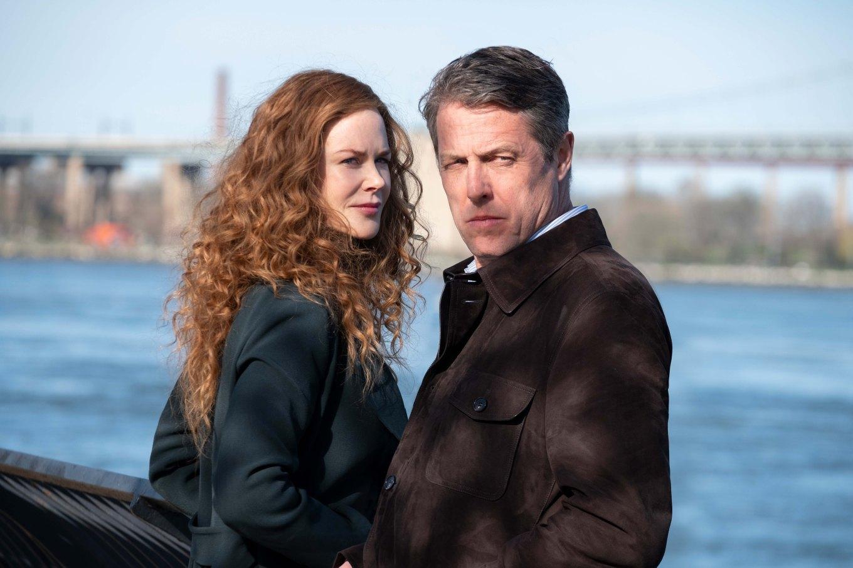 2 Photo credit - Niko Tavernise - HBO Nicole Kidman and Hugh Grant
